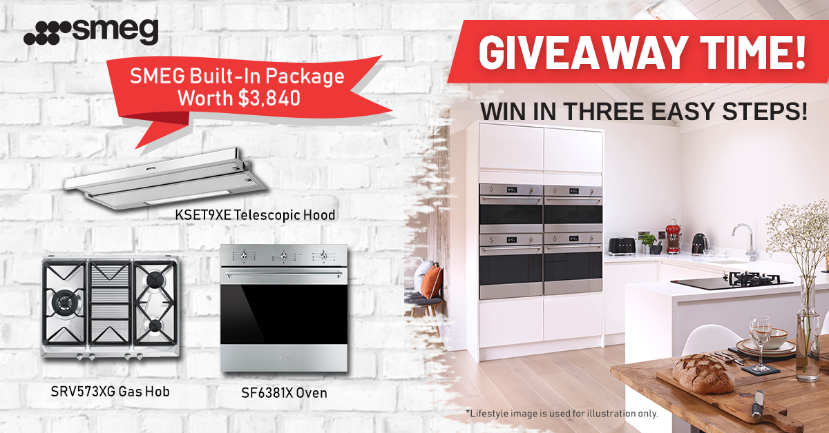 EXCLUSIVE SMEG GIVEAWAY